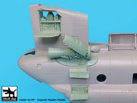 CH -47 Chinook engine for Italeri