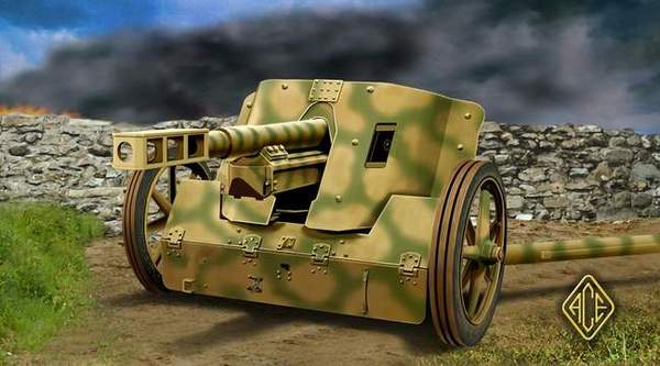 German 50 Mm Anti Tank Gun: Pak.50 7.5 Cm German Anti-Tank Gun ACE 72246