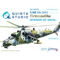 Mi-24V  3D-Printed & coloured Interior on decal paper - Image 1