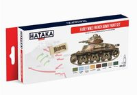 HTK-AS21 Early WW2 French Army paint set