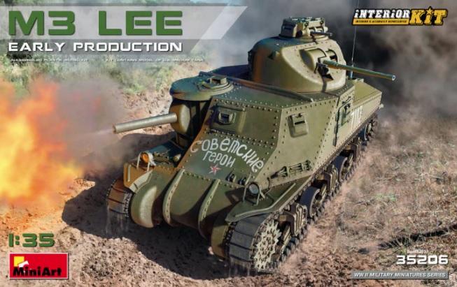 Takom TAK2114 US Medium Tank M3A1 LEE in 1:35