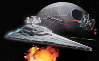 Star Wars Imperial Star Destroyer Build & Play model kit