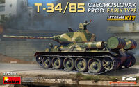 T-34/85 Czechoslovak Prod. Early Type. Interior Kit - Image 1