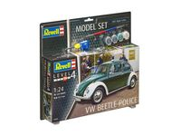 VW Beetle Police Model Set - Image 1