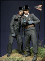Early WW2 Panzer Crew Set (2 figs) - Image 1