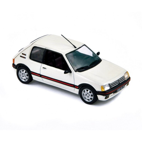 peugeot 205 gti 1990 meije white die cast model norev 471702. Black Bedroom Furniture Sets. Home Design Ideas