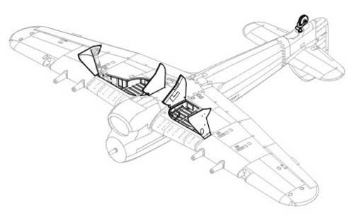 H Typhoon Mk Ib Podwozie Has Cmk 4164