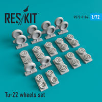 Tu-22 wheels set - Image 1