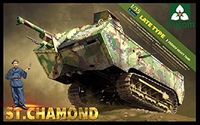 French heavy tank St.Chamond Late type