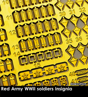 Red Army WWII Soldiers Insignia