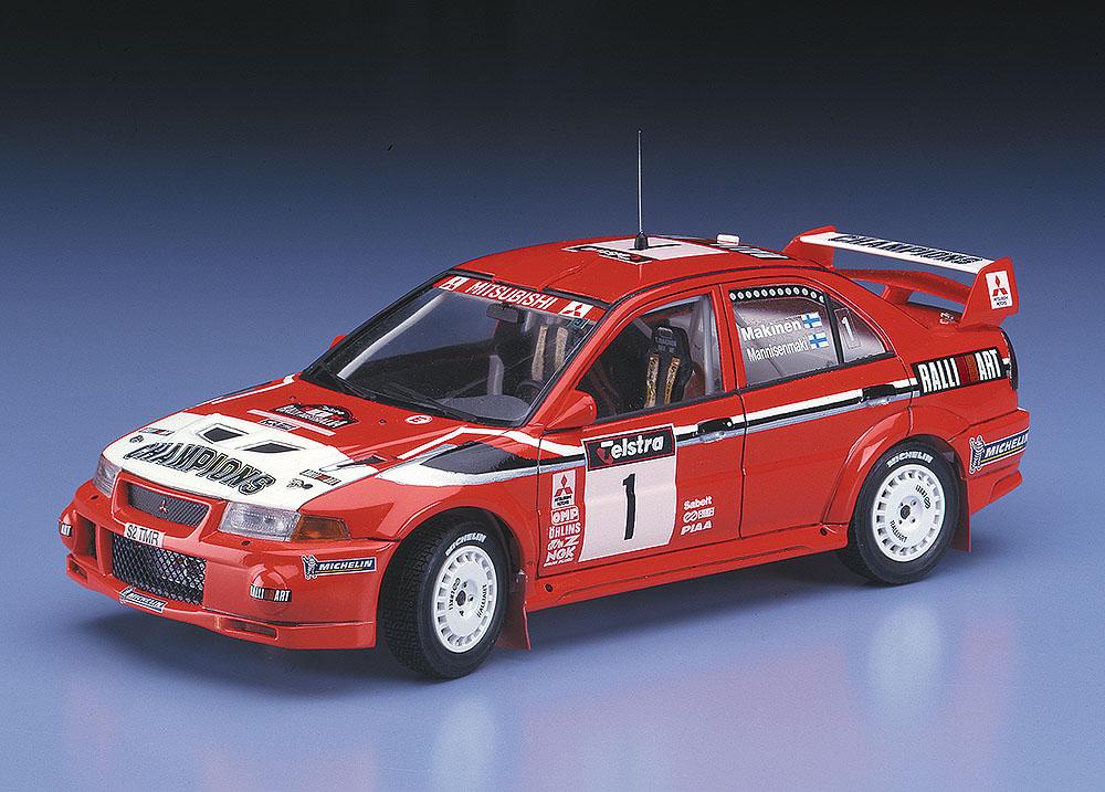 MITSUBISHI LANCER Evolution VI 1999 WRC DRIVERS CHAMPION Hasegawa ...