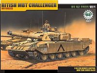 Ritish MBT Challenger Motorized