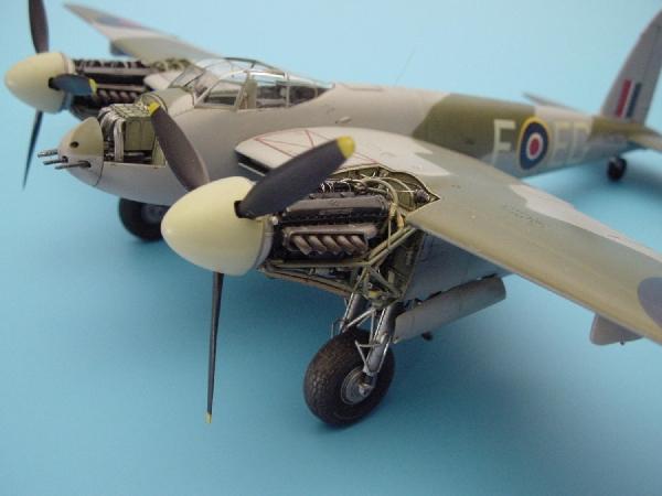 U 72 62 Merlin 73 Mosquito Cowlings For The Tamiya Kit
