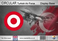 Circular Turkish Air Force 200mm