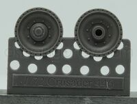 Wheels for Crusader and Covenanter, type 1 - Image 1