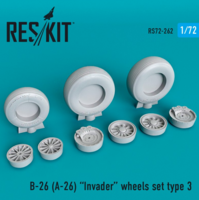 B-26 (A-26)  Invader wheels set type 3 - Image 1