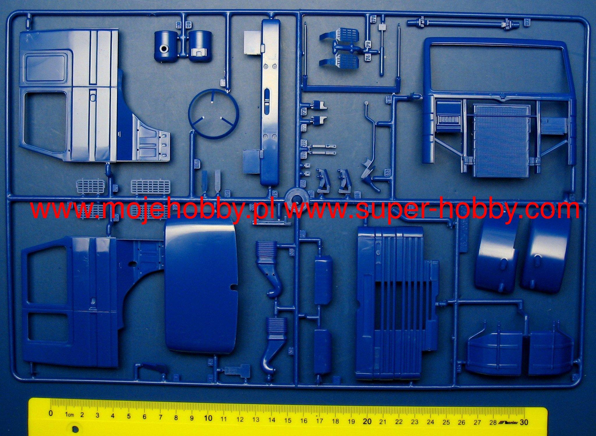 Scania 143 Wiring Diagram 143m Topline 4x2 Italeri 3910rhsuper Hobby