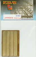 Hinges (size C) 0,4mm
