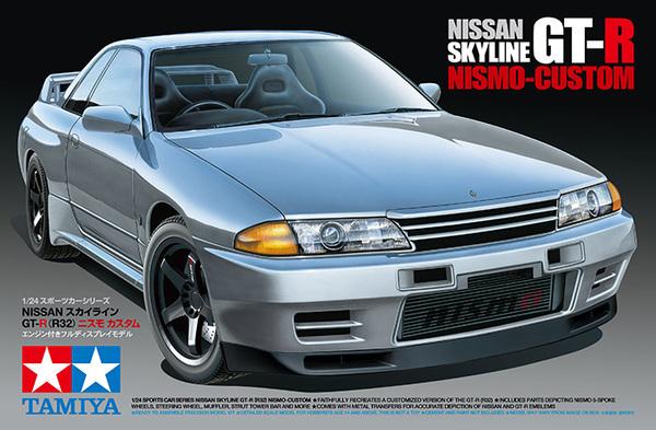 Nissan Skyline Gtr R32 Nismo Custom Tamiya 24341