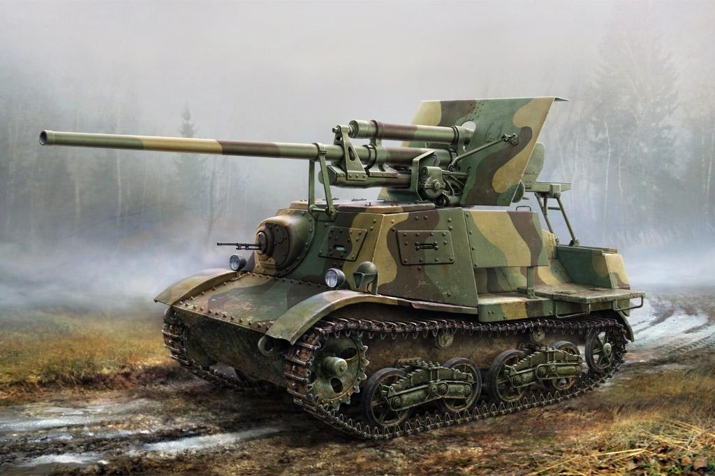 Self Propelled Cart >> Soviet ZIS-30 Light Self-Propelled Anti-Tank Gun Hobby ...