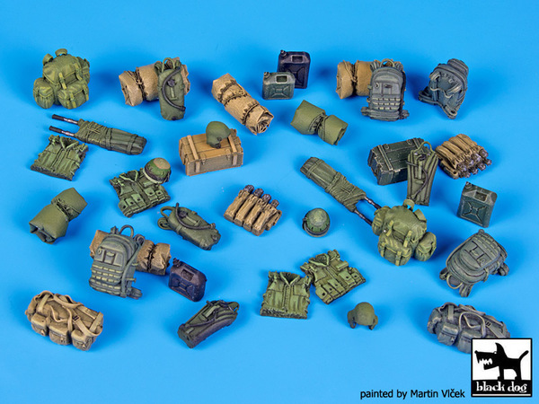 Israeli modern equipment accessories set - Image 1