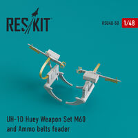 UH-1D Huey Weapon Set M60 and Ammo belts feader - Image 1