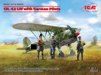 CR. 42 LW with German Pilots