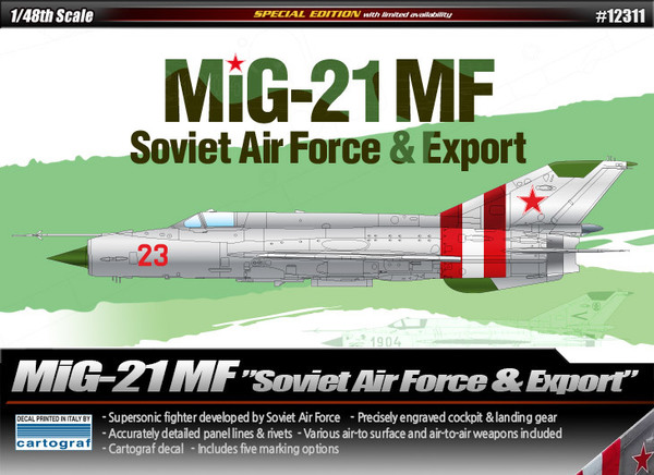 """MiG-21MF"" Soviet Air Force & Export - Image 1"