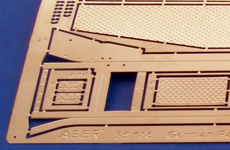 Pz.Kpfw IV D fenders 1//35 scale Aber 35186 set