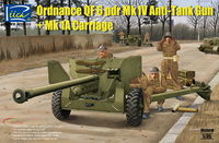 British  Ordnance QF 6 pdr Mk IV Anti-Tank Gun and Mk 1a Carriage - Image 1
