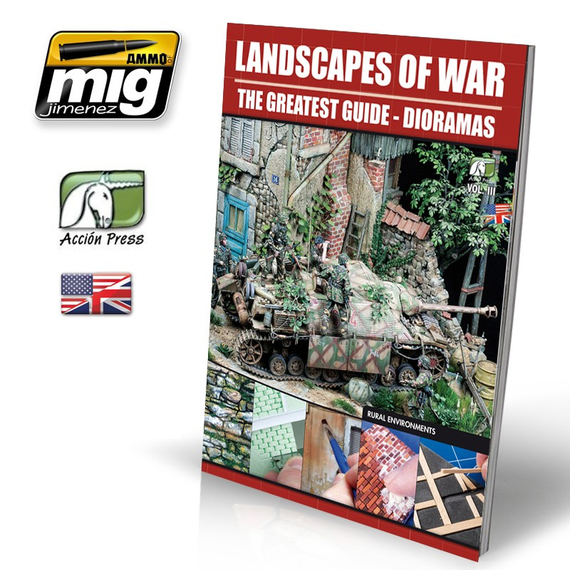 LANDSCAPES OF WAR: THE GREATEST GUIDE - DIORAMAS Vol.III - Rural Enviroments (English) - Image 1