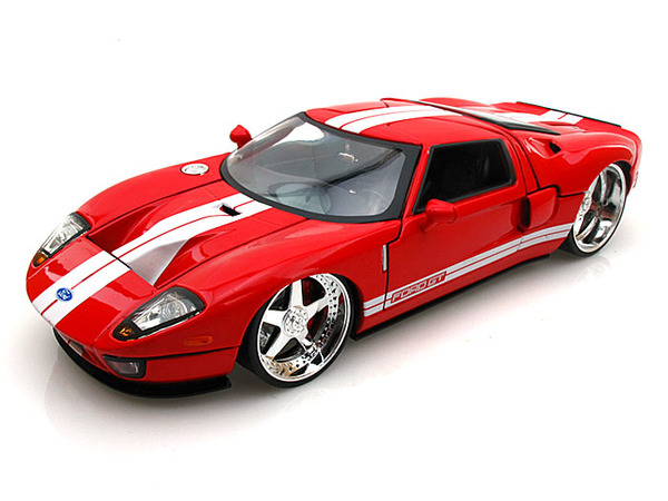 Ford Gt Red Image