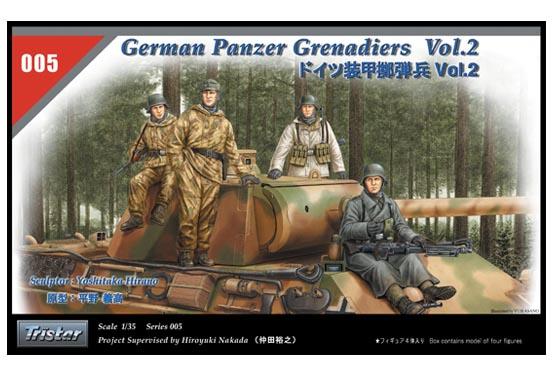 German Panzer Grenadiers Set Volume 2