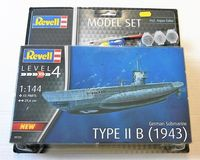 German Submarine Type II B (1943) Model Set