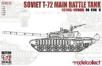 Soviet T-72 Main Battle Tank 1970s-1990s 5 in 1