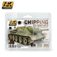 AK138 Chipping Essentials Weathering Set