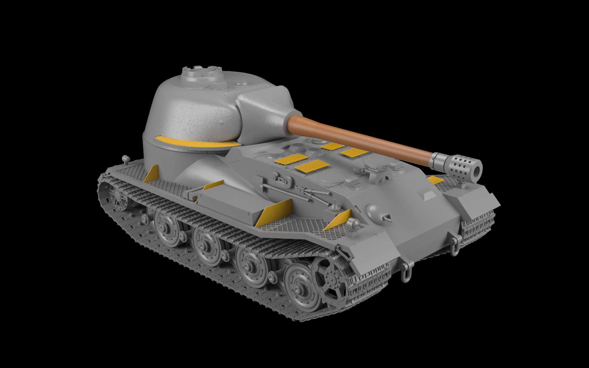 K VK 72.01 German WWII Heavy Prototype Tank Plastic Model Kit 1//72 Armory 72202