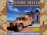 USMC M1114 Up-Armoured Tactical Vehicle