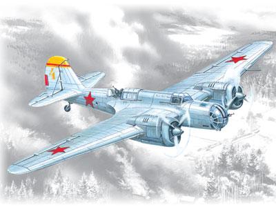 Bombardiere Spagnolo SB 2M-100 Katiushka ICM 72161