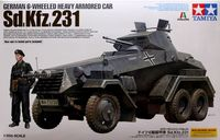 German 6-Wheeled Heavy Armored Car Sd.Kfz.231