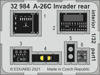 A-26C Invader rear interior HOBBY BOSS - Image 1