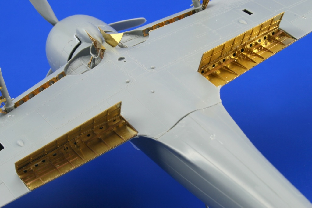 Mitsubishi A6M3 Zero Type 32 Landing Flaps designed to 8591437486250