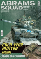 Abrams Squad nr 18 - Cold War Hunter M60A1 Braille Scale Diorama