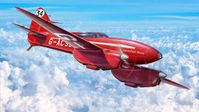 DH-88 Comet Mac Robertson Air Race