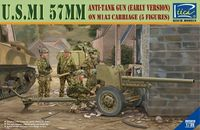 U.S. M1 57mm Anti-tank gun on M1A3 Carriage (early version)