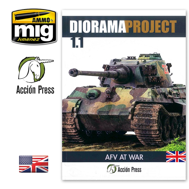 DIORAMA PROJECT 1.1 - AFV AT WAR ENGLISH - Image 1