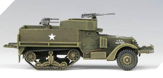 AC13408 1//72 US M3 harf Track /& 1//4ton Amphibian vehicle
