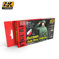 AK 3140 German Infantry Colors Set