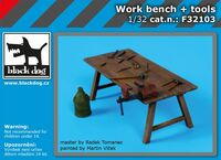 Work bench + tools