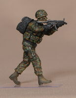 SEK M. Soldier of special ops german navy.